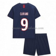 Paris Saint Germain PSG Voetbaltenue Kind 2019-20 Edinson Cavani 9 Thuisshirt..
